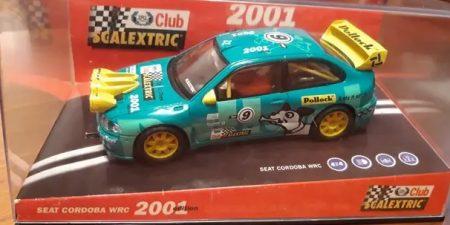 coche scalextric club 2001
