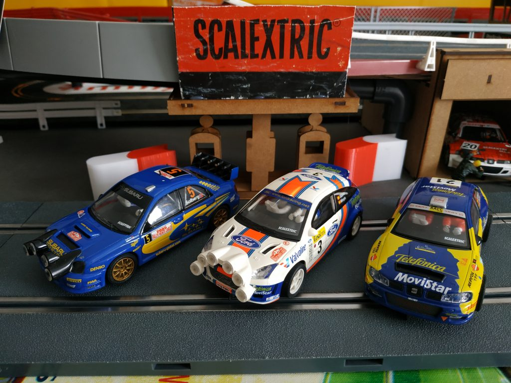 tres coches scalextric